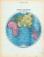 Page 055 - Eastern Hemisphere, World Atlas 1911c from Minnesota State and County Survey Atlas